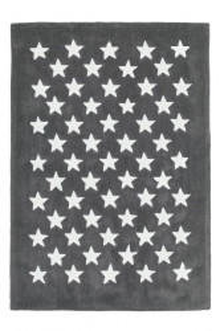 Covor gri din fibre acrilice 120x170 cm Dream Stars Lalee