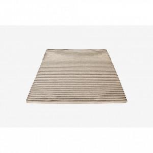 Covor gri din lana 200x140 cm Gradus Bolia