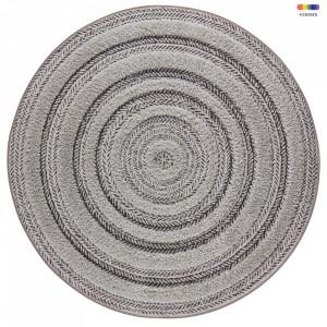 Covor gri din polipropilena 160 cm Handira Vintage Anthracite Grey Mint Rugs
