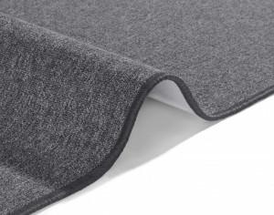 Covor gri inchis Casual BT Carpet (diverse marimi)