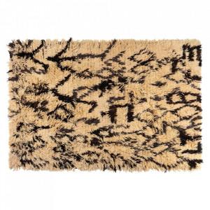 Covor maro din lana 200x300 cm Tulu Versmissen