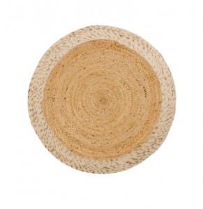 Covor maro din lana si iuta 100 cm Meray La Forma