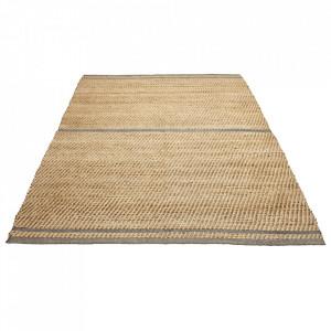 Covor maro/verde din iuta si lana 200x300 cm Conwy Bolia