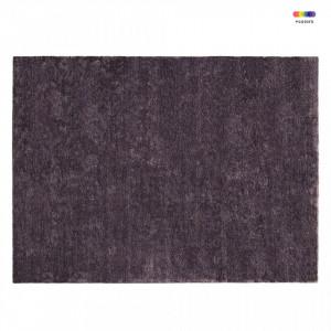 Covor mov din matase de bambus 300x400 cm Confetti Purple Normann Copenhagen