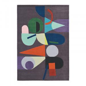 Covor multicolor din lana si viscoza Estella Moonlig Brink & Campman (diverse dimensiuni)
