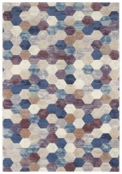 Covor multicolor din polipropilena Manosque Arty Multicolor Elle Decor (diverse dimensiuni)
