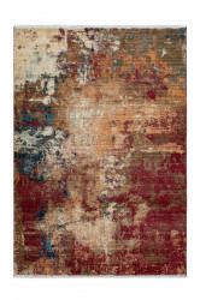 Covor multicolor din polipropilena Medellin Red Lalee (diverse dimensiuni)