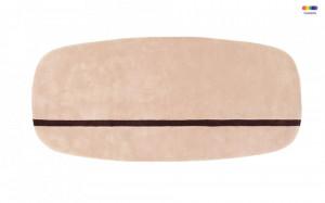 Covor roz din lana 90x200 cm Oona Normann Copenhagen