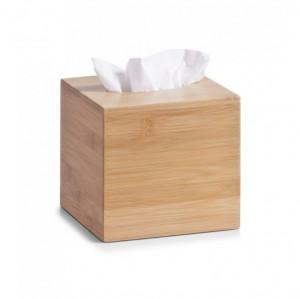 Cutie maro din lemn pentru servetele Miley Zeller