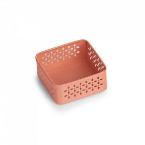 Cutie rosu corai din metal Ilomilo Zeller