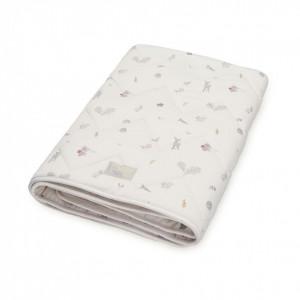 Cuvertura matlasata din bumbac pentru copii 100-100 cm Diaz Fawn Cam Cam