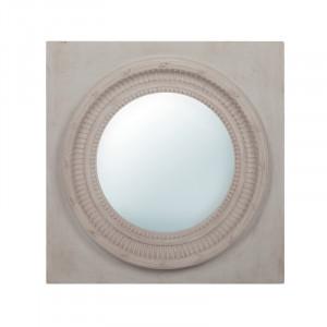 Decoratiune cu oglinda din lemn pentru perete 75x75 cm Juna LifeStyle Home Collection