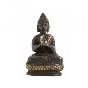 Decoratiune din alama 7 cm Buddha Nordal