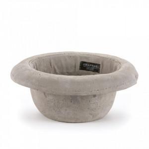 Decoratiune din ciment 11 cm Chapeau Bombetta Seletti