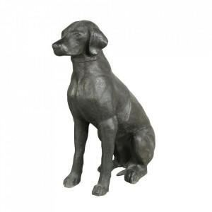 Decoratiune gri din aluminiu 70 cm Labrador Eichholtz