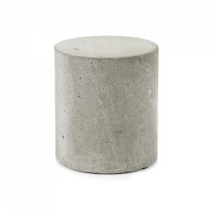 Decoratiune gri din beton 13 cm Shape Serax