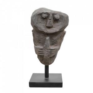 Decoratiune gri din piatra 28 cm Primitive Statue Versmissen