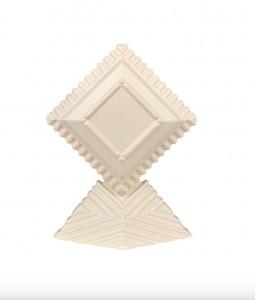 Decoratiune ivorie din ceramica 40 cm Unity Object Versmissen