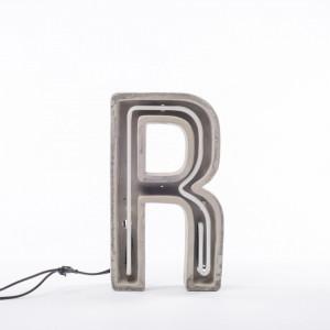 Decoratiune luminoasa din ciment 40 cm R Alphacrete Seletti