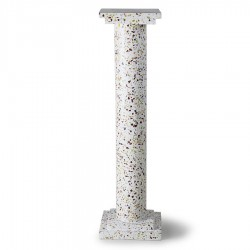Decoratiune multicolora din terrazzo cu ciment 24x85 cm Greek Column HK Living
