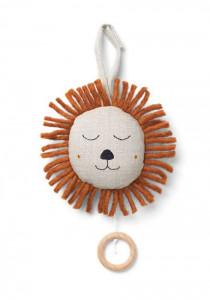 Decoratiune muzicala suspendabila din in Lion Natural Ferm Living