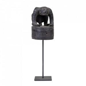 Decoratiune neagra din lemn 38 cm Hat From Enggano Versmissen