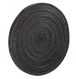 Decoratiune neagra din lemn de mungur pentru perete 65 cm Salome La Forma