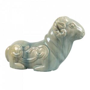 Decoratiune verde din ceramica 20 cm Ram Versmissen