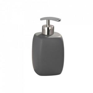 Dispenser gri/argintiu din ceramica 440 ml Faro Soap Wenko