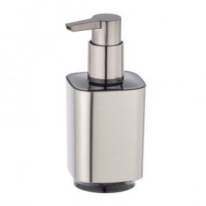 Dispenser sapun lichid argintiu din plastic 300 ml Auron Wenko