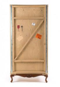 Dulap maro din lemn 202,5 cm Export Como Base Seletti