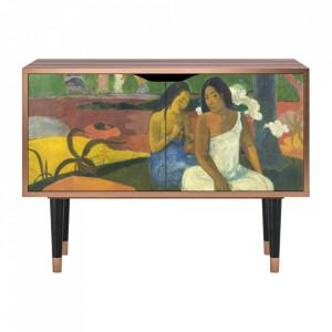 Dulapior multicolor din MDF si lemn Arearea By Paul Gauguin Clara Furny