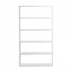 Etajera alba din metal 180 cm Hyller Line Custom Form