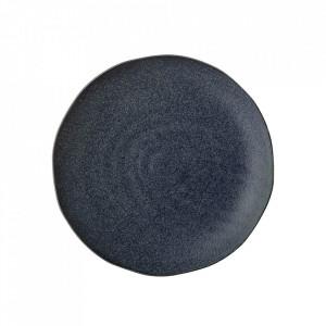 Farfurie albastra din ceramica 28,5 cm Aura Bloomingville