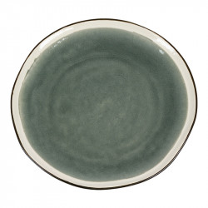 Farfurie gri din ceramica 26,5 cm Gokio Santiago Pons