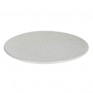Farfurie intinsa gri din ceramica 27 cm Aratani Kave Home
