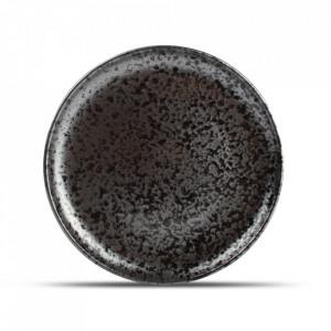 Farfurie intinsa neagra din portelan 26 cm Oxido Fine2Dine