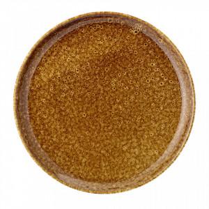 Farfurie maro din ceramica 21 cm Zomba Bloomingville