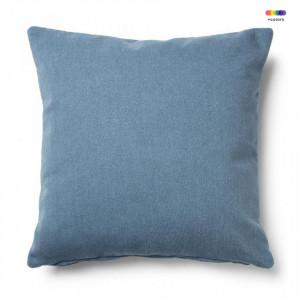 Fata de perna albastra din textil 45x45 cm Mak Bulova La Forma