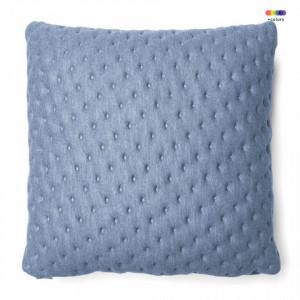 Fata de perna albastra din textil 45x45 cm Mak Moncel La Forma