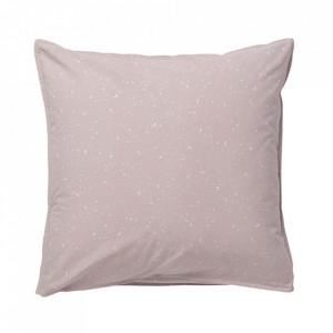 Fata de perna roz din bumbac 80x80 cm Hush Milkyway Rose La Forma