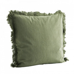 Fata de perna verde din bumbac 50x50 cm Mark Madam Stoltz