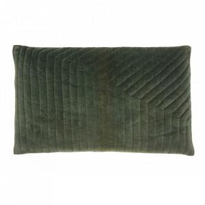 Fata de perna verde din catifea 38x63 cm Canus Nordal