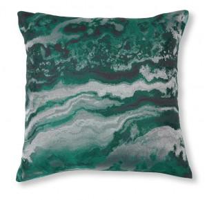 Fata de perna verde din textil 45x45 cm Rocio La Forma