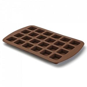 Forma pentru negrese maro din silicon Mini Brownies Versa Home