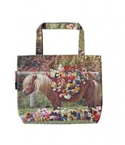 Geanta multicolora din poliester Toiletpaper Pony House Seletti
