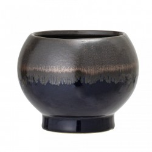 Ghiveci albastru din ceramica 12 cm Round Bloomingville
