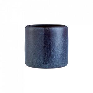 Ghiveci albastru din ceramica 18 cm Iris Large Bolia