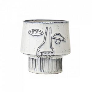 Ghiveci gri din ceramica 15 cm Kasongo Bloomingville