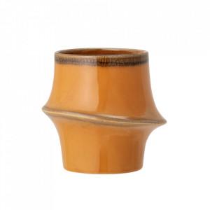 Ghiveci portocaliu din ceramica 14 cm Neya Bloomingville